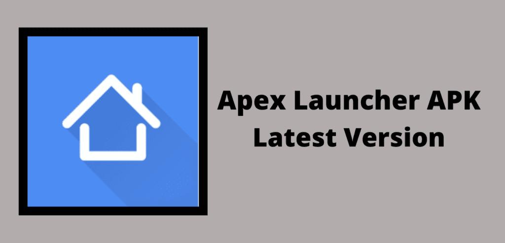 Apex Launcher APK Download Image