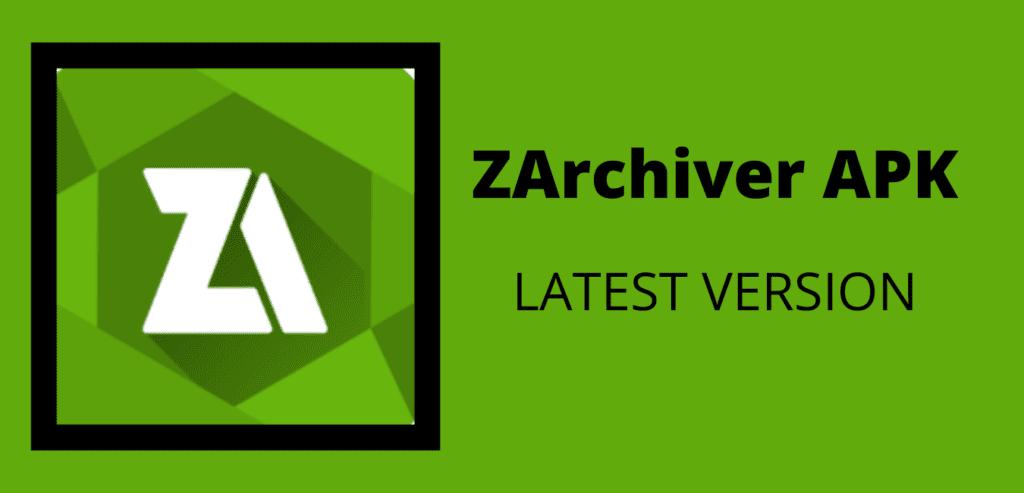 ZArchiver APK Download Image